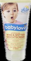 Детский крем Babylove Schutzende (Защита от дождя и ветра)
