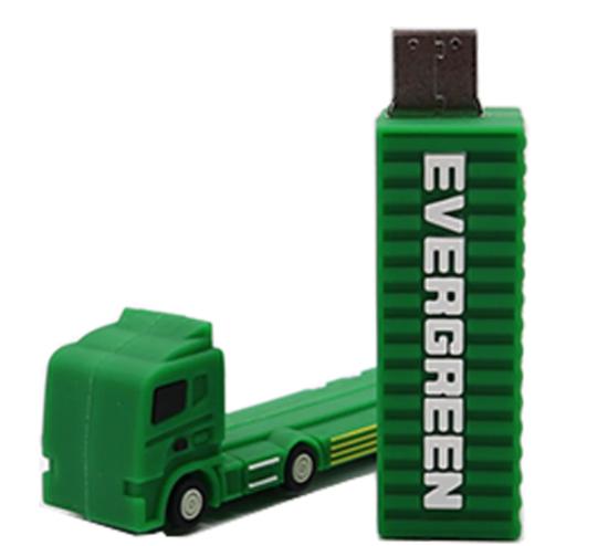 Флешка USB flash носитель фура машина 16гб