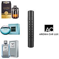 Premium Автомобильный ароматизатор Aroma Car Lux. Комплект из 3х ароматов для мужчин. Цвет Черный.