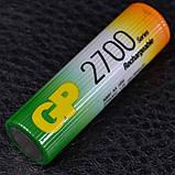 Аккумулятор никель-металлогидридный Ni-MH AA (R6) GP, 1.2V (2700mAh), фото 2