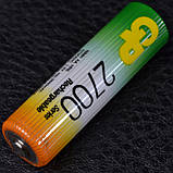 Аккумулятор никель-металлогидридный Ni-MH AA (R6) GP, 1.2V (2700mAh), фото 6