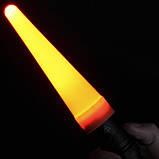 """Диффузор сигнальный """"капля"""" для фонарей Nitecore NTW34 (34mm), красный, фото 2"""