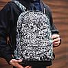 Рюкзак молодіжний з кольоровим принтом (13555-12)