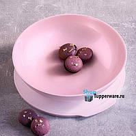 Tupperware чаша Алегро 1.5 л в рожевому кольорі