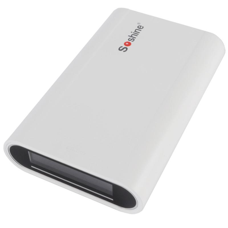 2 в 1 - Power Bank + зарядний пристрій Soshine E3 (1-4x18650)
