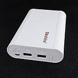 2 в 1 - Power Bank + зарядний пристрій Soshine E3 (1-4x18650), фото 3