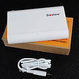 2 в 1 - Power Bank + зарядний пристрій Soshine E3 (1-4x18650), фото 7
