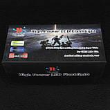 Фонарь прожектор Bailong BL-T801-10 (Cree XM-L T6, 500 люмен, 3 режима, 2x18650), комплект, фото 2