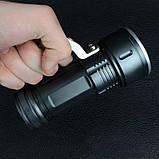 Фонарь прожектор Bailong BL-T801-10 (Cree XM-L T6, 500 люмен, 3 режима, 2x18650), комплект, фото 10