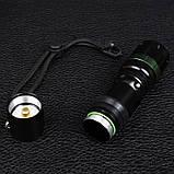 Ліхтар фокусируемый Bailong BL-8455 (Cree XPE-Q5, 180 люмен, 3 режими, 1х18650/3хААА), комплект, фото 5