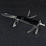 Ніж складний, мультитул Victorinox Spartan (91мм, 12 функцій), чорний 1.3603.3, фото 2