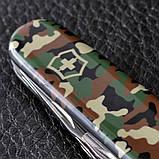 Нож складной, мультитул Victorinox Spartan (91мм, 12 функций), камуфляж 1.3603.94, фото 7
