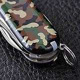 Нож складной, мультитул Victorinox Spartan (91мм, 12 функций), камуфляж 1.3603.94, фото 8
