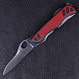 Нож складной, мультитул Victorinox Nomad One Hand (111мм, 11 функций), красный 0.8351.MWC, фото 2