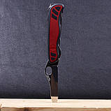 Нож складной, мультитул Victorinox Nomad One Hand (111мм, 11 функций), красный 0.8351.MWC, фото 8