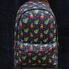 Рюкзак молодіжний з кольоровим принтом (13555-14)