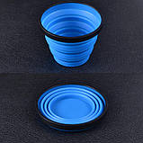 Кружка складная Sea to Summit X-Mug (0,48л), синяя, фото 3