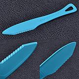 Набір столових приладів Sea to Summit Delta Cutlery Set, (ложка, виделка, ніж), блакитний, фото 4