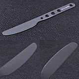 Набор столовых приборов алюминиевых Sea to Summit 3ps, (нож,вилка, ложка), фото 5