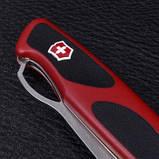 Ніж складний, мультитул Victorinox Rangergrip 63 One Hand (130мм, 5 функцій), червоно-чорний 0.9523.M, фото 8