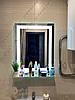 Зеркало с LED подсветкой с полкой, 600х800мм, L28