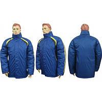 Куртка спортивная М2 сине-желто-черная