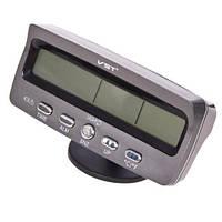 Термометр внутр. наруж./часы/вольтметр/подсветка VST 7045V (VST-7045V)