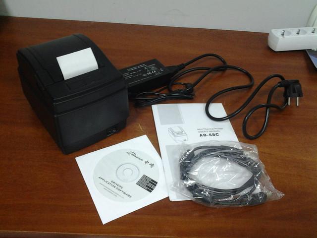 заказать принтер чеков Zonerich A58C