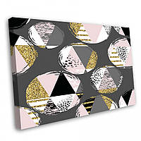 Картина на холсте Kronos Top Абстракция Геометрия 60 х 80 см lfp3803389066080, КОД: 740088