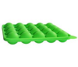 Силиконовая форма Hauser для Кейк Попсов 23 х 19 см Зеленая psgHH-652, КОД: 1353099