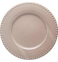 Набор 2 сервировочных блюда Bordallo Pinheiro Fantasia d 34 см Бежевый psgTR-65019114, КОД: 944431