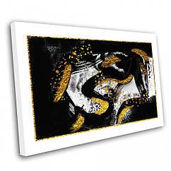 Картина на полотні Kronos Top Абстракція Мазки 9 40 х 60 см lfp11160391764060, КОД: 740093