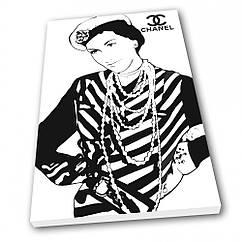 Картина на полотні Kronos Top Chanel 30 х 40 см lfp12724753303040, КОД: 941800