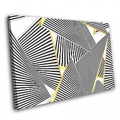 Картина на полотні Kronos Top Абстракція Лінії 80 х 120 см lfp107665604380120, КОД: 965108
