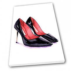 Картина на полотні Kronos Top Мода Туфельки 60 х 80 см lfp10602628166080, КОД: 965172