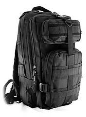 Рюкзак военный тактический Molle Assault 20L Черный gr006869, КОД: 108794