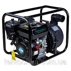 Мотопомпа 5.5 л. с. Hmax 30м Qmax 38м3/год (4-х тактний) для агресивного середовища AQUATICA (772539)
