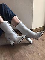 Ботинки женские белые