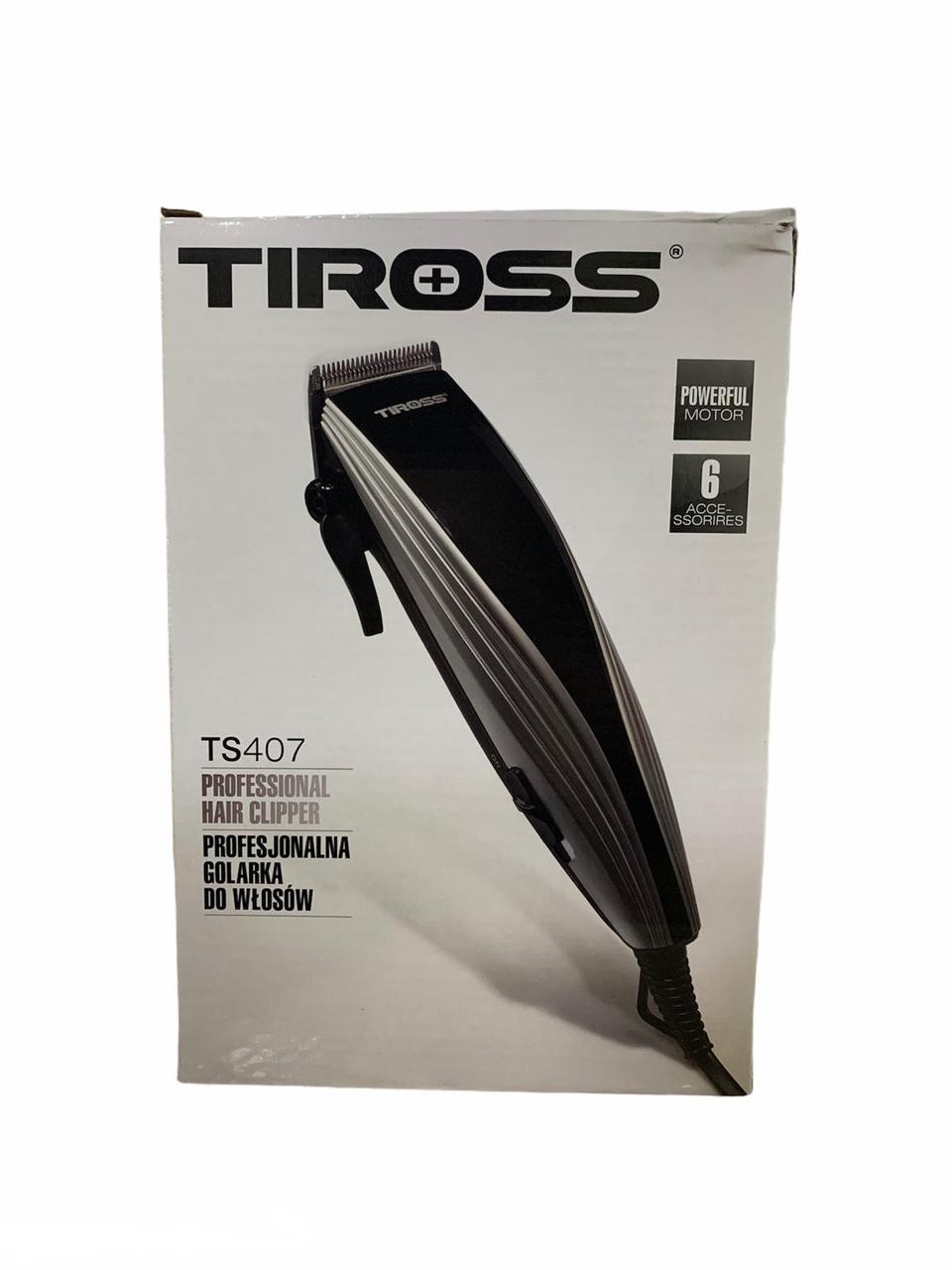 Машинка для стрижки Tiross TS 407 Silver