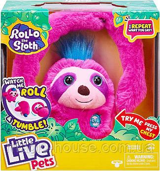 Интерактивная игрушка ленивец РоллоLittle Live PetsОригинал отMoose