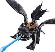 Игровой набор фигурок Дракон Беззубик и виккинг Иккинг оригинал от spin master, фото 5