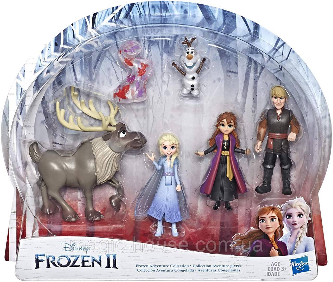 Игровой набор Frozen 2 Холодное Сердце 6 фигурок Оригинал Hasbro