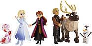 Игровой набор Frozen 2 Холодное Сердце 6 фигурок Оригинал Hasbro, фото 3