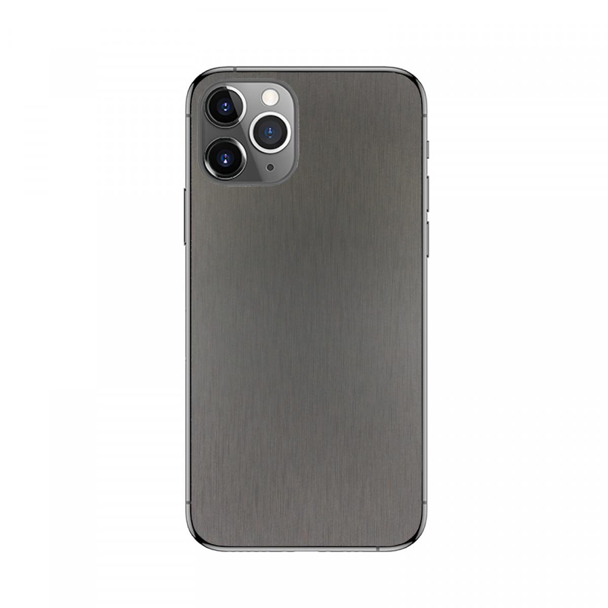 Пленка защитная на заднюю панель смартфона Черный Металик