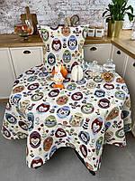 Скатертину на стіл Комільфо гобелен 97х100 ЛИ126