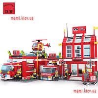 Конструктор BRICK 911 Пожарная охрана