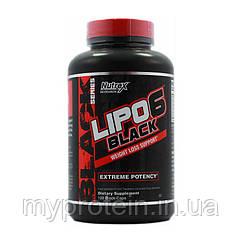NutrexДля снижения весаLipo 6 Black Int.120 caps