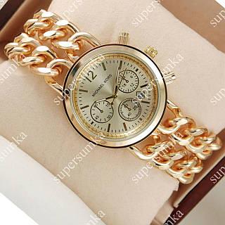 Кварцевые наручные часы Michael Kors Sequence Gold/Gold 1613