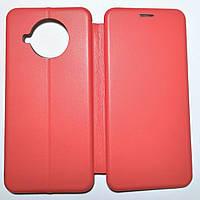 Чехол книжка для Xiaomi Mi 10T Lite / Mi 10i / Redmi Note 9 Pro 5G Red