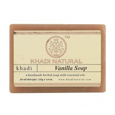 "Натуральне аюрведичне мило ""Ваніль"" Кхаді 125 г Khadi Vanilla Soap"